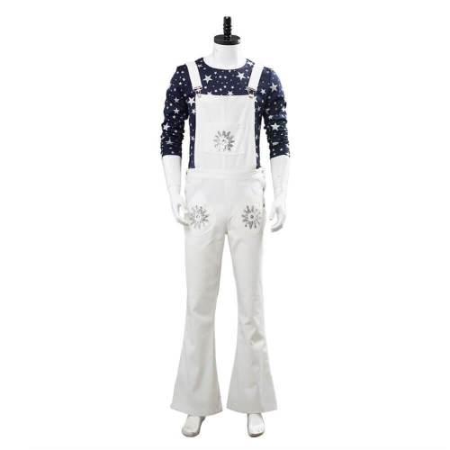 Movie Rocketman Elton John Underwear Bib Pants Suit Cosplay Costumes