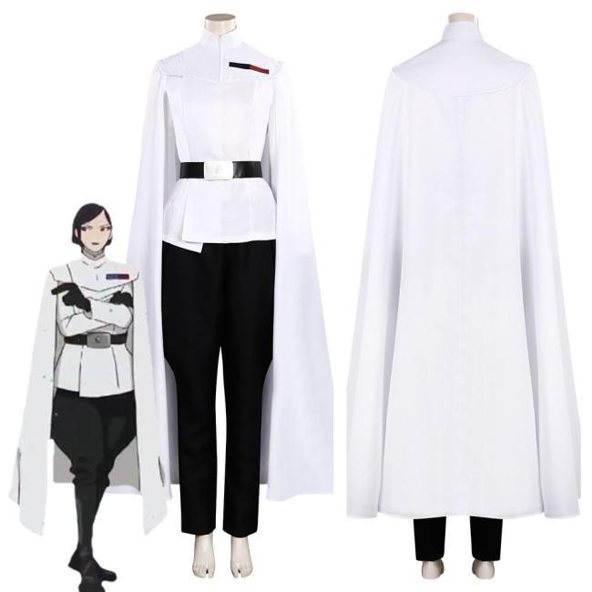 Star Wars: Visions Jedi Knight Women Halloween Costume Cosplay Costume
