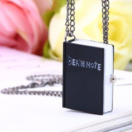 Death Note Watch Necklace