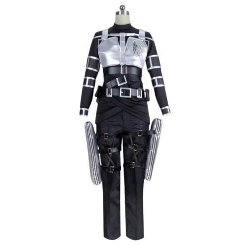 Attack On Titan Mikasa·Ackerman Halloween Carnival Suit Cosplay Costume