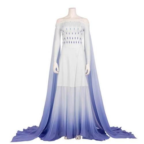 Frozen 2 Queen Of Arendelle Elsa Cosplay Party Dress Costumes