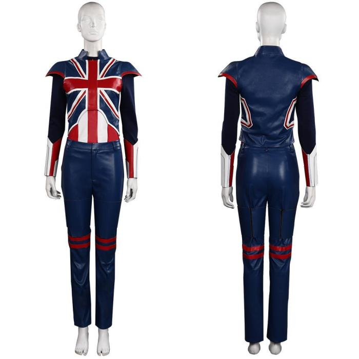 What If Peggy Carter Outfits Halloween Carnival Suit Cosplay Costume