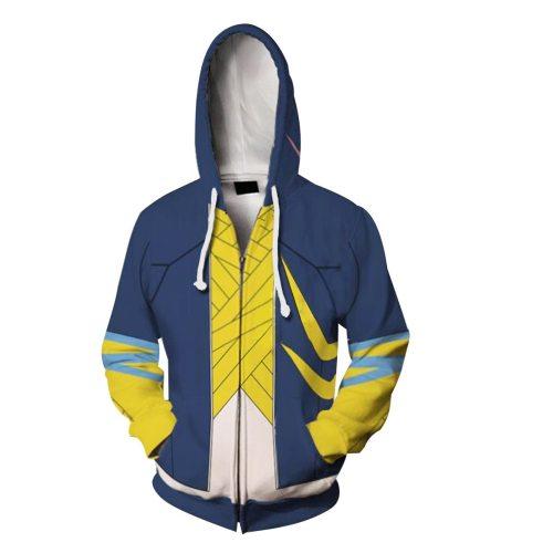 Ssss.Dynazenon Anime Gauma Cosplay Unisex 3D Printed Hoodie Sweatshirt Jacket With Zipper