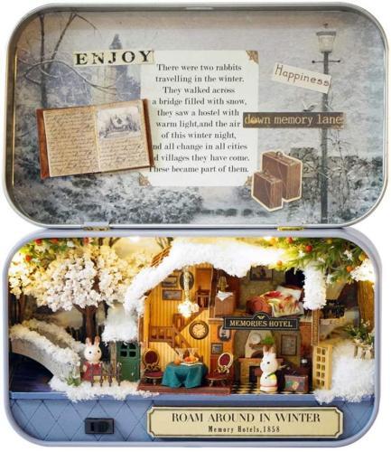 Box Theater Doll House Diy Kit