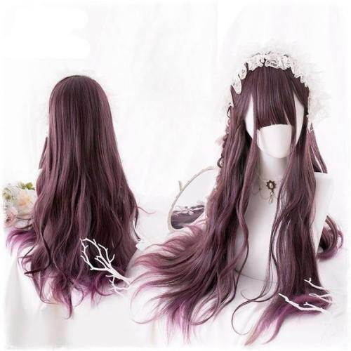 Red Raven Long Wig