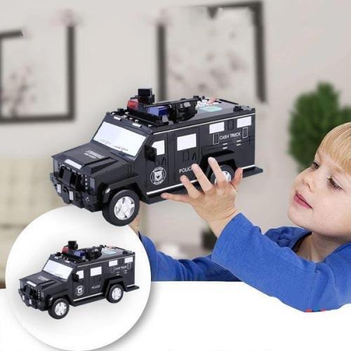 Police Car Piggy Bank