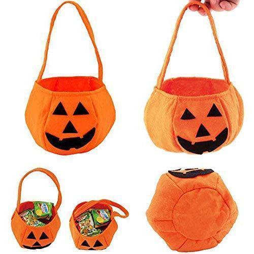 Halloween Pumpkin Shape Portable Gift Bags Candy Bag