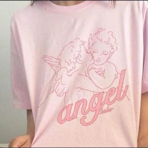 Pink Angel Tee