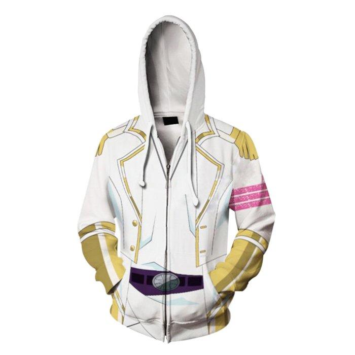 Ssss.Dynazenon Anime Onija Cosplay Unisex 3D Printed Hoodie Sweatshirt Jacket With Zipper