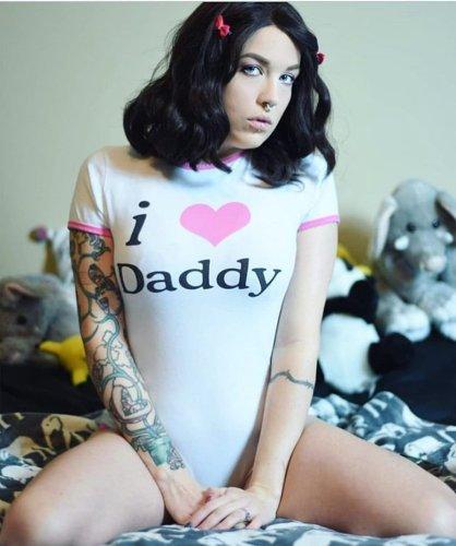 I Love Daddy Onesie