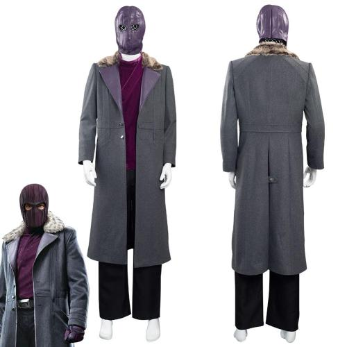 The Falcon And The Winter Soldier Baron Zemo Halloween Carnival Suit Cosplay Costume