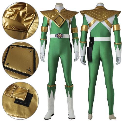 Mighty Morphin Power Rangers Green Ranger Cosplay Costume