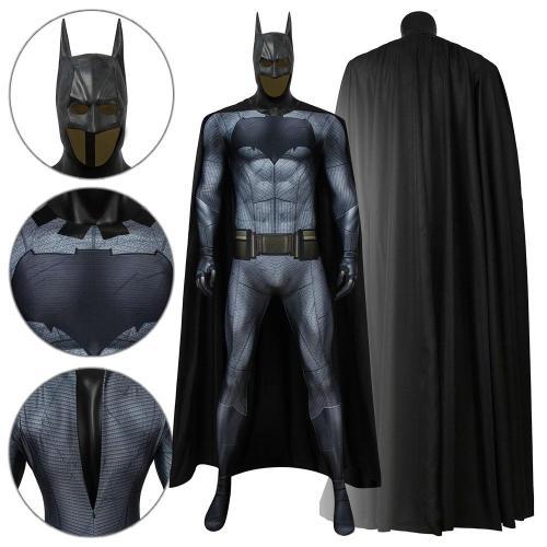 Batman Bruce Wayne Batman Vs Superman: Dawn Of Justice Jumpsuit Cosplay Costume -
