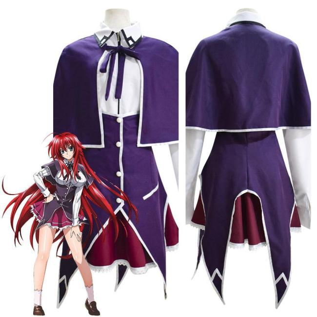 High School D×D Rias Gremory Halloween Carnival Suit Cosplay Costumes