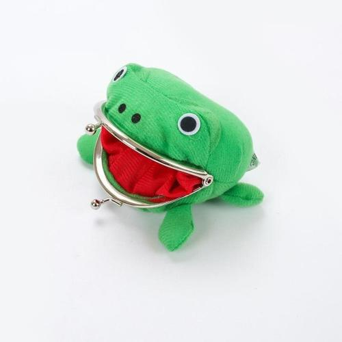 Frog Wallet Cartoon Wallet Coin Purse Manga Flannel Wallet Cute Purse Animal For Kids Gifts Accessory