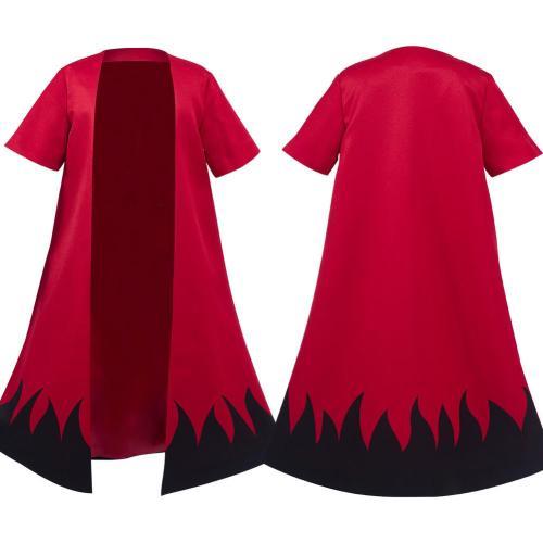 Naruto Uzumaki Naruto Kids Children Cloak Cardigan Cosplay Costume