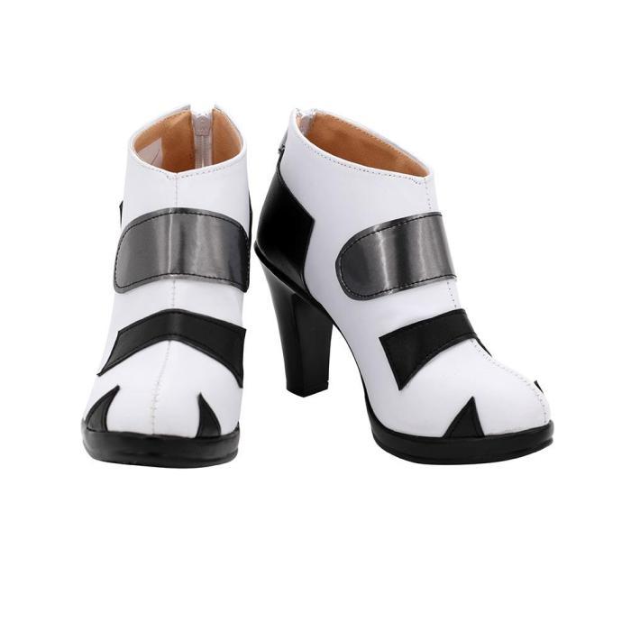 Neon Genesis Evangelion/Eva - Ayanami Rei  Boots Halloween Costumes Accessory Custom Made Cosplay Shoes
