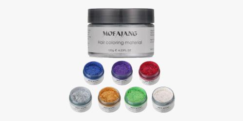 Colorful Hair Wax - Temporary Hair Dye