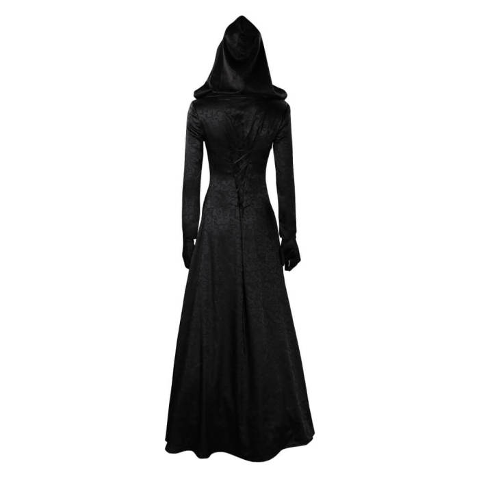 Resident Village Witch Cosplay Costume Dress Outfits Halloween Suit