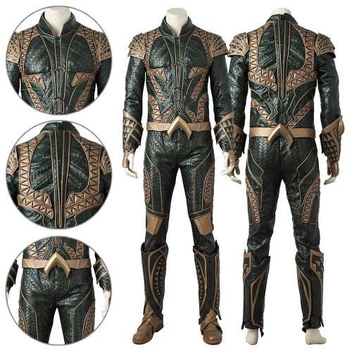 Aquaman Arthur Curry Justice League Cosplay Costume