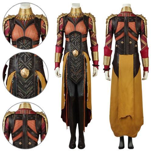 Okoye Black Panther Cosplay Costume