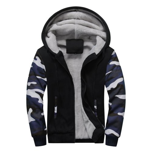 Winter Camouflage Hoodies Fashion Casual Coat