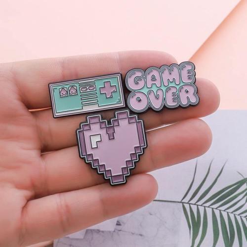 Pastel Gamer Enamel Pins