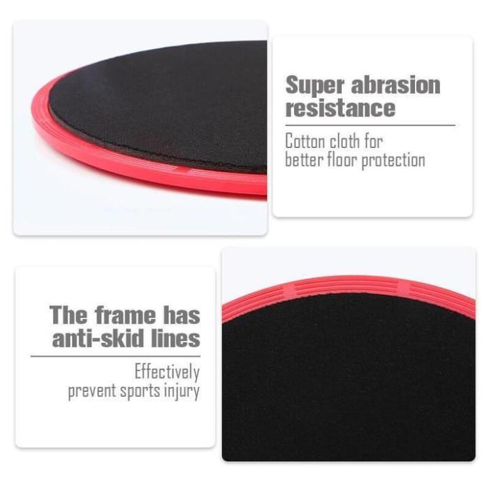 Multifunctional Sliding Fitness Disk