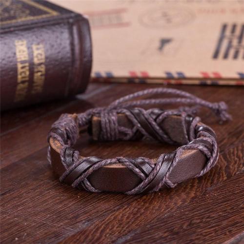 Forge Viking Leather Bracelet