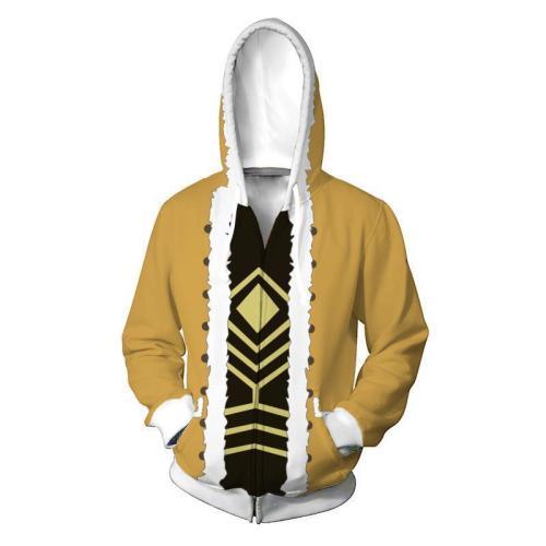 My Hero Academy Anime Hawks Takami Keigo Red Wing Cosplay Unisex 3D Printed Hoodie Sweatshirt Jacket With Zipper