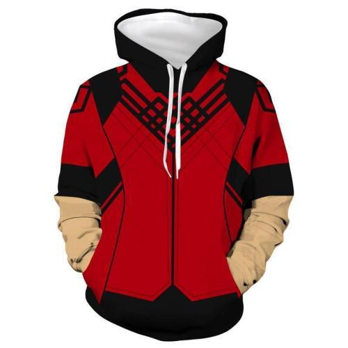 Shang-Chi And The Legend Of The Ten Rings Movie Red Cosplay Unisex 3D Printed Hoodie Sweatshirt Pullover
