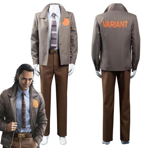 Loki Tv Loki Outfits Halloween Carnival Suit Cosplay Costume