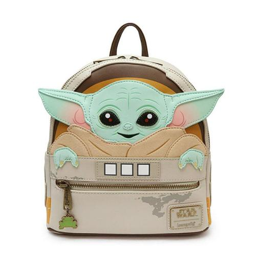 Star Wars The Mandalorian Baby Yoda Cosplay Backpack Halloween Bags For Kids Adults