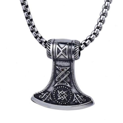 Thoraxe Steel Amulet