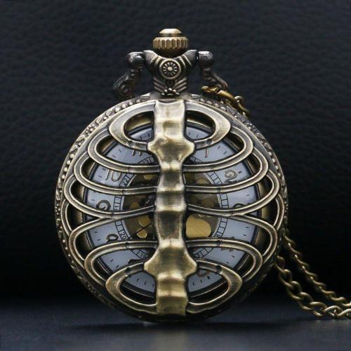 Steampunk Bone Pocket Watch