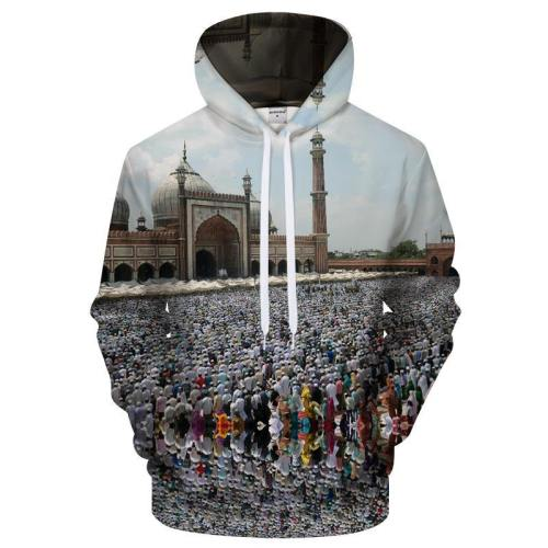 Ramadan Thousands Prayers 3D Sweatshirt Hoodie Pullover