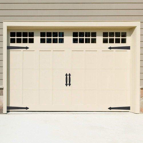 Decorative Garage Door Hinge And Handle Set (6 Piece)