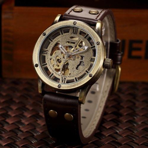 Rumble Steampunk Bronze Watch