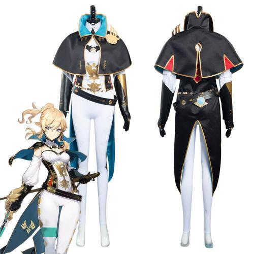 Game Genshin Impact Jean Gunnhildr Outfits Halloween Carnival Suit Cosplay Costume