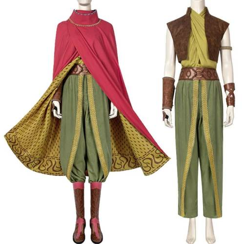 Raya And The Last Dragon Uniform Outfit Halloween Cosplay Costume