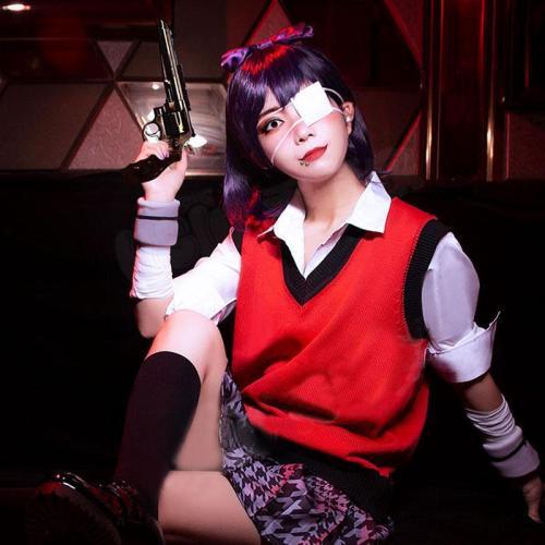 Kakegurui Compulsive Gambler Midari Ikishima Halloween Cosplay Costume