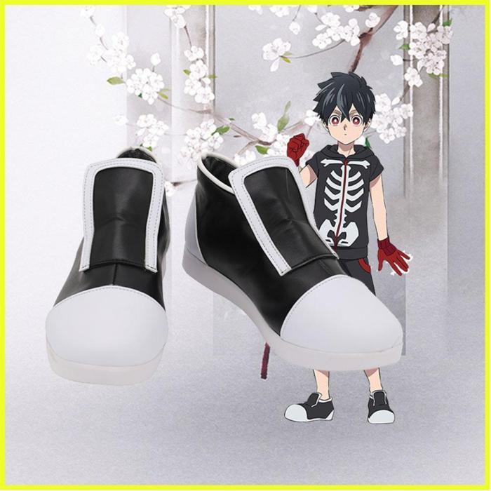 Anime Kemono Jihen Kabane Kusaka Boots Halloween Costumes Accessory Custom Made Cosplay Shoes