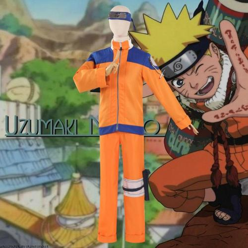 Young Uzumaki Naruto From Naruto Halloween Cosplay Costume