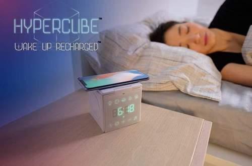 Hypercube: Wireless Charging Station & Sleep Aid