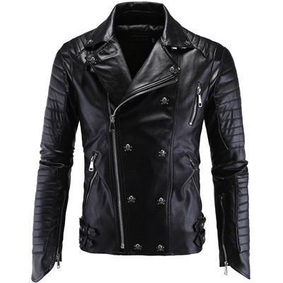 Black Magic Leather Jacket