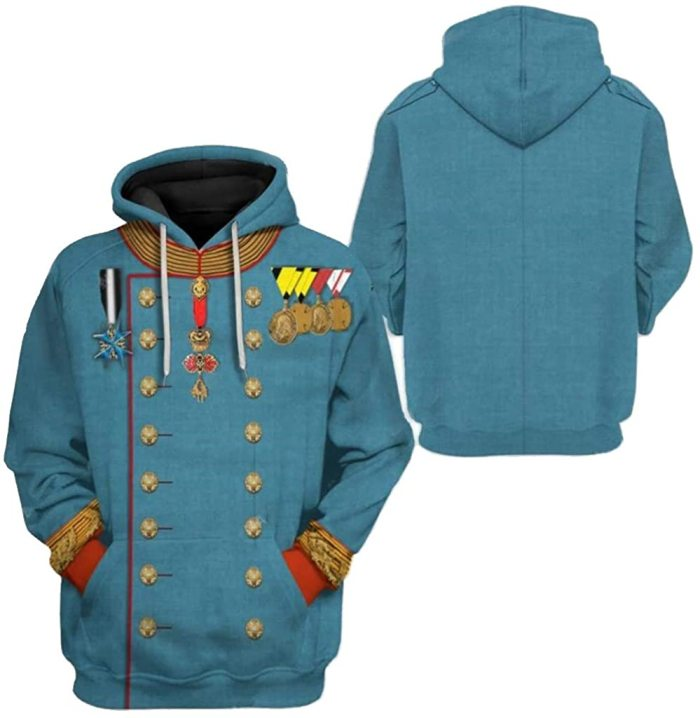Franz Joseph I Historical Figure Unisex 3D Printed Hoodie Pullover Sweatshirt
