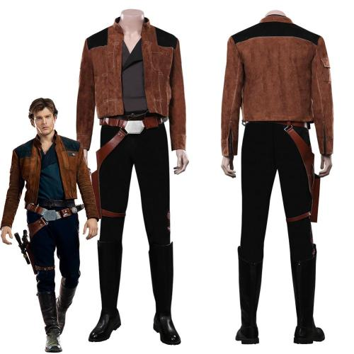 Solo: A Star Wars Story -Han Solo Outfit Halloween Carnival Costume Cosplay Costume