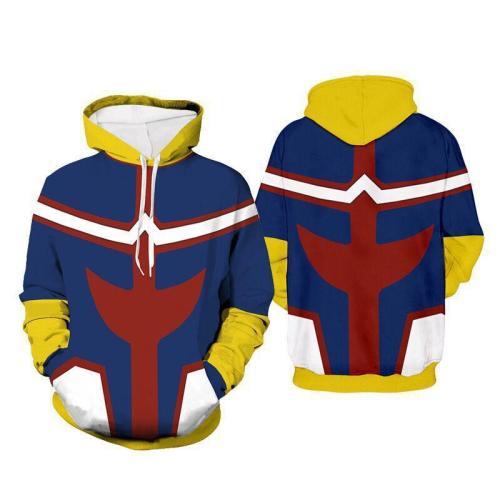 My Hero Academia Season 5 Anime Unisex 3D Printed Hoodie Pullover Sweatshirt