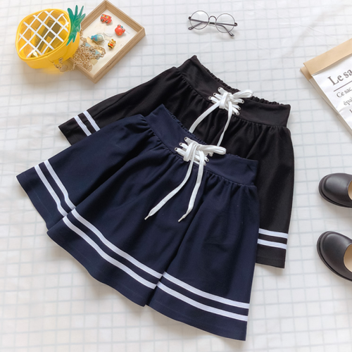 High Waist Stripe Skirt