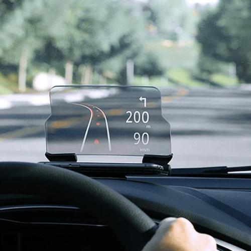 Universal Phone Holder With Hands Free Display For Gps